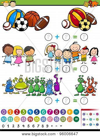 Educational Game Cartoon Illustration
