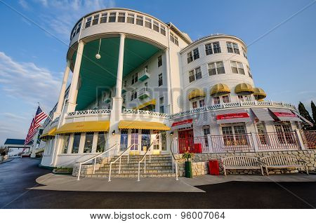 Grand Hotel on Mackinac Island