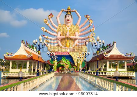 Shiva statue on Koh Samui