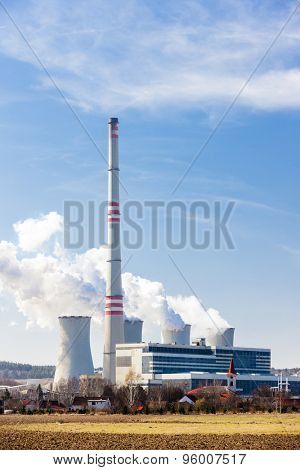 power plant, Czech Republic