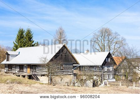 cottages in Kokorin Region, Dobren, Czech Republic