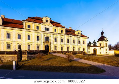 Palace of Rychnov nad Kneznou, Czech Republic