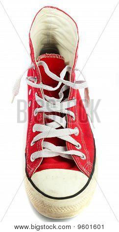 Red Vintage Shoe