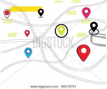 map tracking and Navigation map