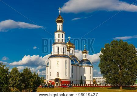 Holy Resurrection Cathedral in Brest, Belarus