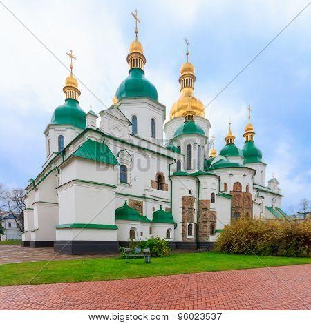 Saint Sophia Cathedral In Kiev, Ukraine.