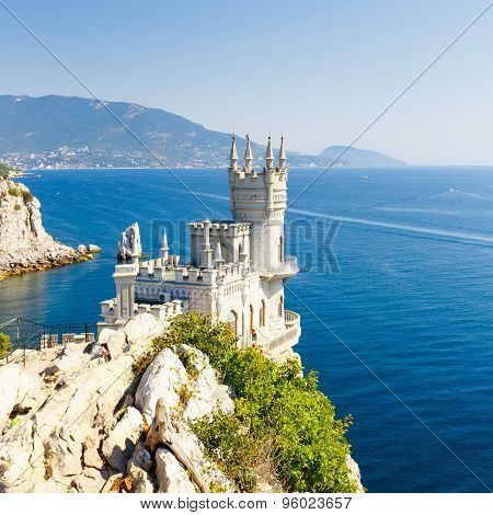 The Well-known Castle Swallow's Nest Near Yalta.