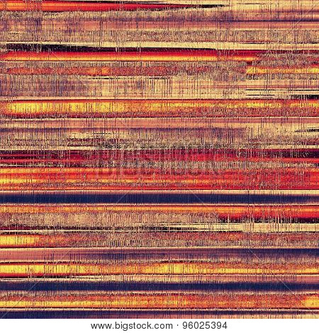 Background in grunge style. With different color patterns: yellow (beige); brown; purple (violet); red (orange)