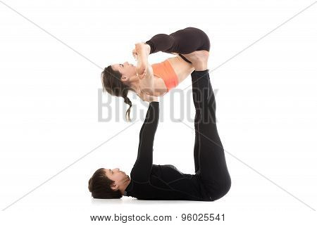 Yogi Couple Practice