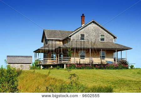 Cedar Shingle House