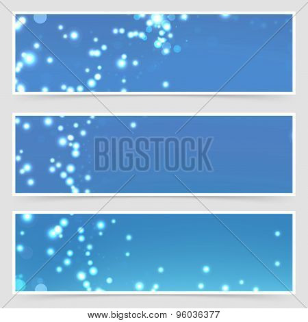 Christmas Magical Glitter Modern Flyer Set