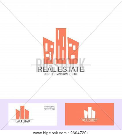Real Estate Flat Logo