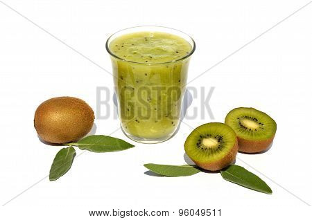 Kiwi Juice With Fruits