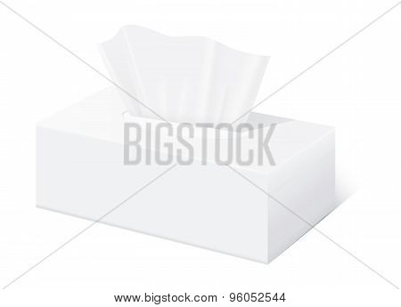 Tissue box mock up