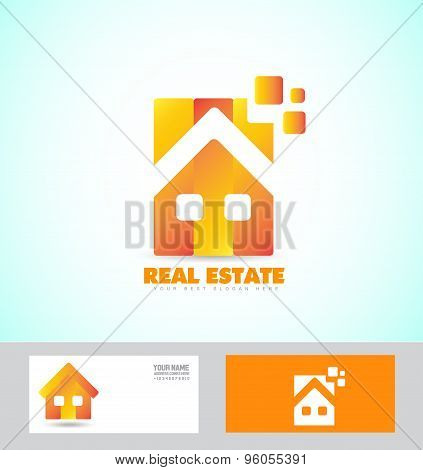 Home Real Estate Logo Icon