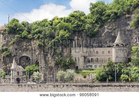 Gellért Hill Cave Church, Budapest, Hungary