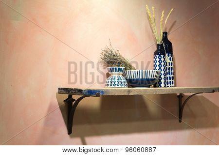Rustic Country Shelf