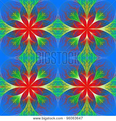 Beautiful Flower Fractal Pattern.