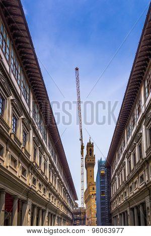 Restoration In Florence