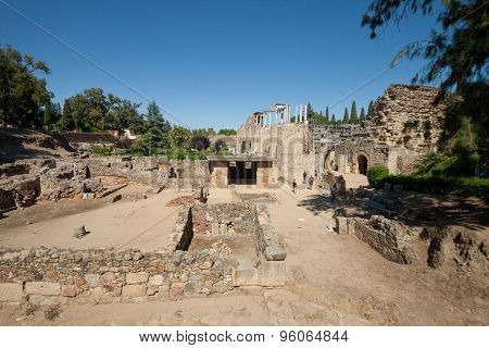 Roman Theatre Of Merida