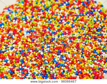 Rainbow Sprinkles Topping