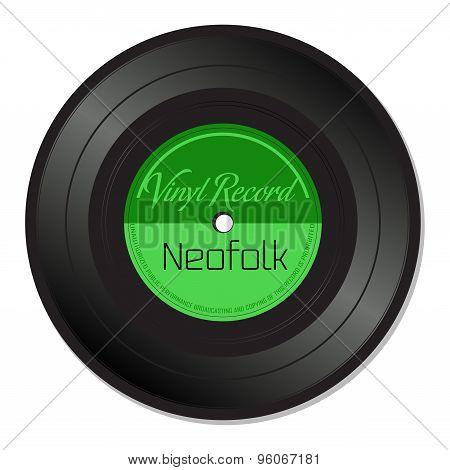 Neofolk vinyl record