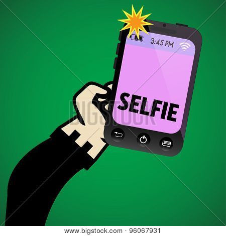 Selfie picture