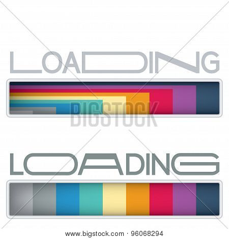 Loading bars set