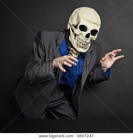 Terrifying Person In Skeleton Mask Stolen