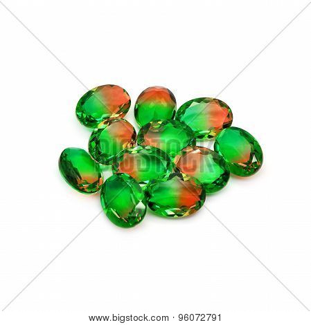Bicolor Gems