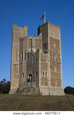 Orford Castle, Suffolk, England