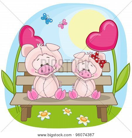 Lovers Pigs