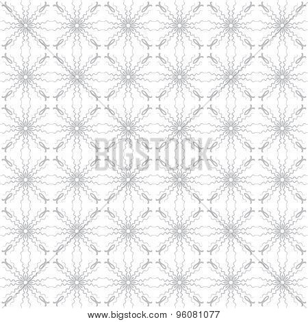 Abstract vector background Seamless ornamental grid texture