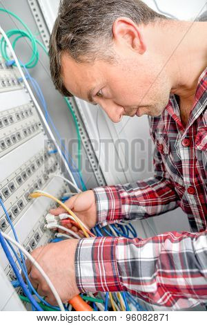 Repairing the server