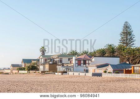 Beach Scene In Swakopmund