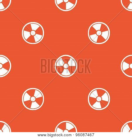 Orange hazard pattern