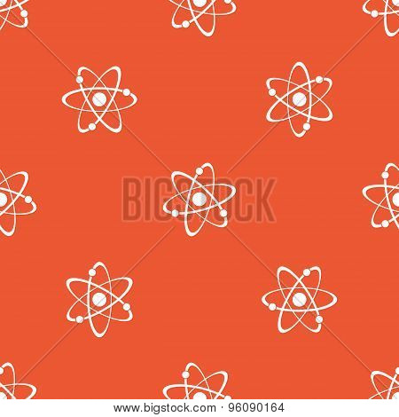 Orange atom pattern