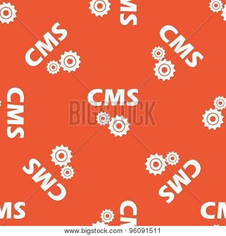 Orange CMS settings pattern