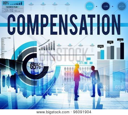 Compensation Payment Finance Incentive Economic Concept