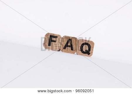 faq , frequently asked questions, text on white background
