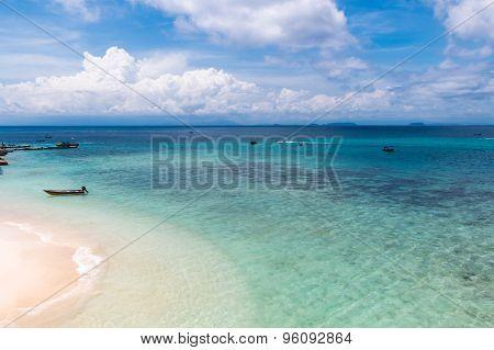 Coral Island Beach, Perhentian Islands, Malaysia