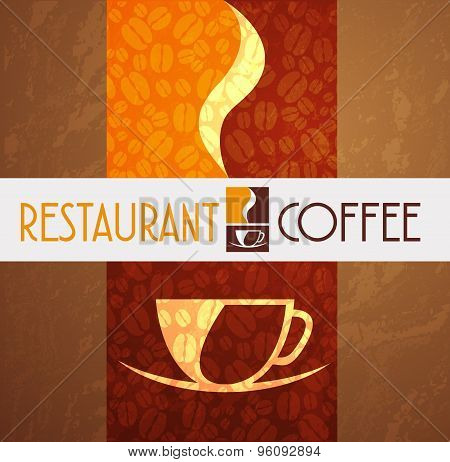 Logo Coffee Menu Restaurant Concept