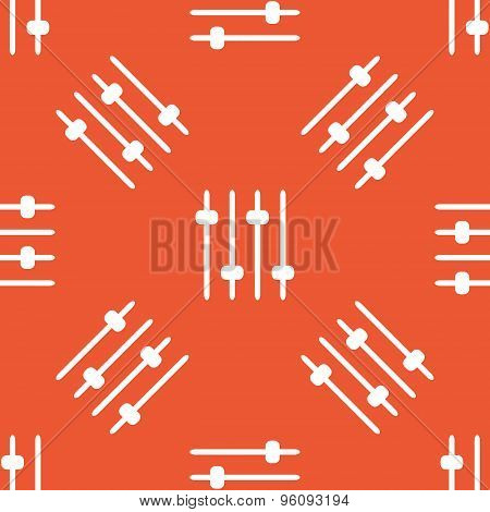 Orange faders pattern