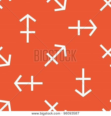 Orange Sagittarius pattern