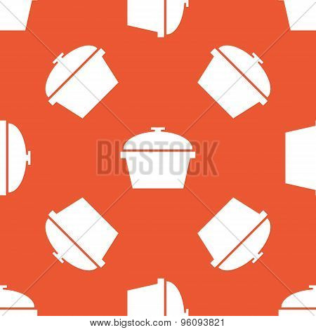 Orange pot pattern