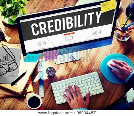 Credibility Partnership Determination Inspiration Concept