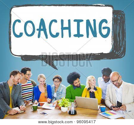 Coach Coaching Skills Teach Teaching Training Concept