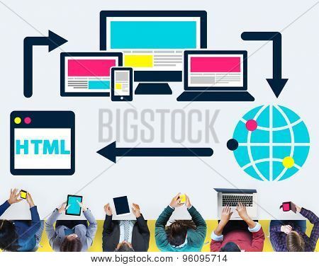 Blog Blogging Digital Networking WWW Global Concept