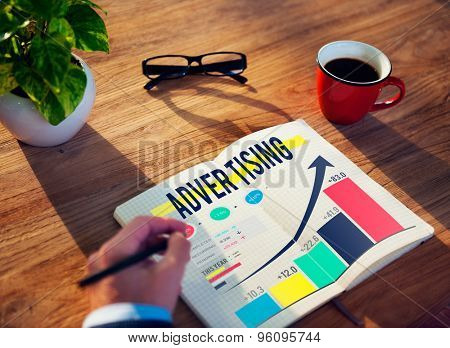 Advertising Advertise Branding Commercial Marketing Concept
