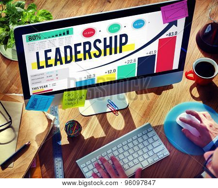 Leadership Leader Lead Management Coach Concept